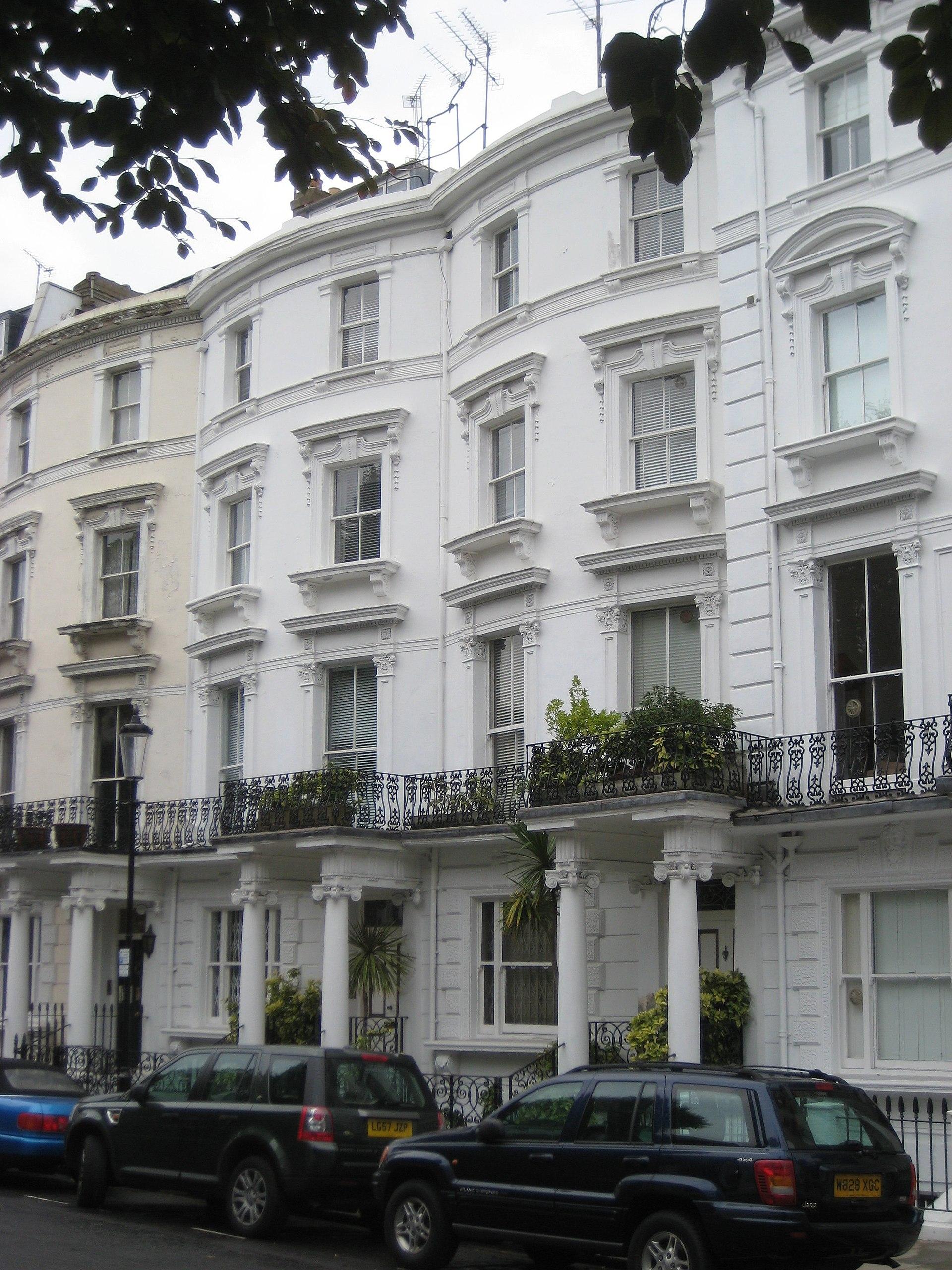 Samarkand Hotel  Lansdowne Crescent Notting Hill London England