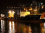 Samskip Innovator & Samskip Courier by night in Rotterdam pic2.JPG