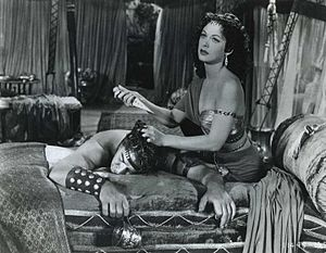Victor Mature And Hedy Lamarr In The Title Roles Of Cecil B DeMilles Samson Delilah 1949