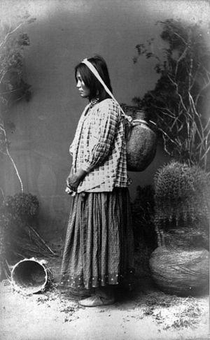 Apache - A Western Apache woman from the San Carlos group