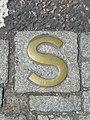Sanctuary marker, Holyrood Abbey - geograph.org.uk - 1336716.jpg