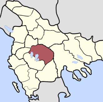 Sanjak of Monastir - Sanjak of Monastir, late 19th century.