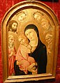 Sano di pietro, madonna col bambino, santi e due angeli.JPG