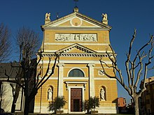 Facciata della chiesa di Santa Maria Maggiore
