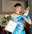 Sarah Hecken German Champion in figure skating 2010 in Mannheim SAP Arena Deutsche Meisterin im Eiskunstlauf.JPG