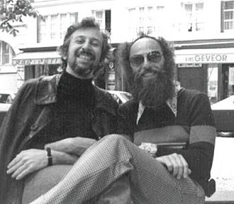 Jack Sarfatti - Sarfatti (left) with physicist Fred Alan Wolf in Paris, 1973