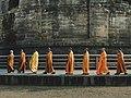 Sarnath Buddha Stupa Pilgrims.jpg