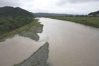 Saru River - Image: Saru River 1