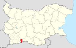 Satovcha Municipality Within Bulgaria.png