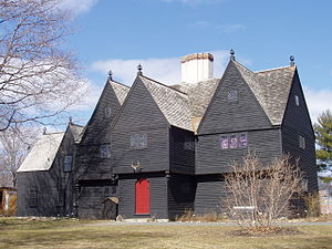 Saugus Iron Works National Historic Site - 17th-century house restored by Wallace Nutting