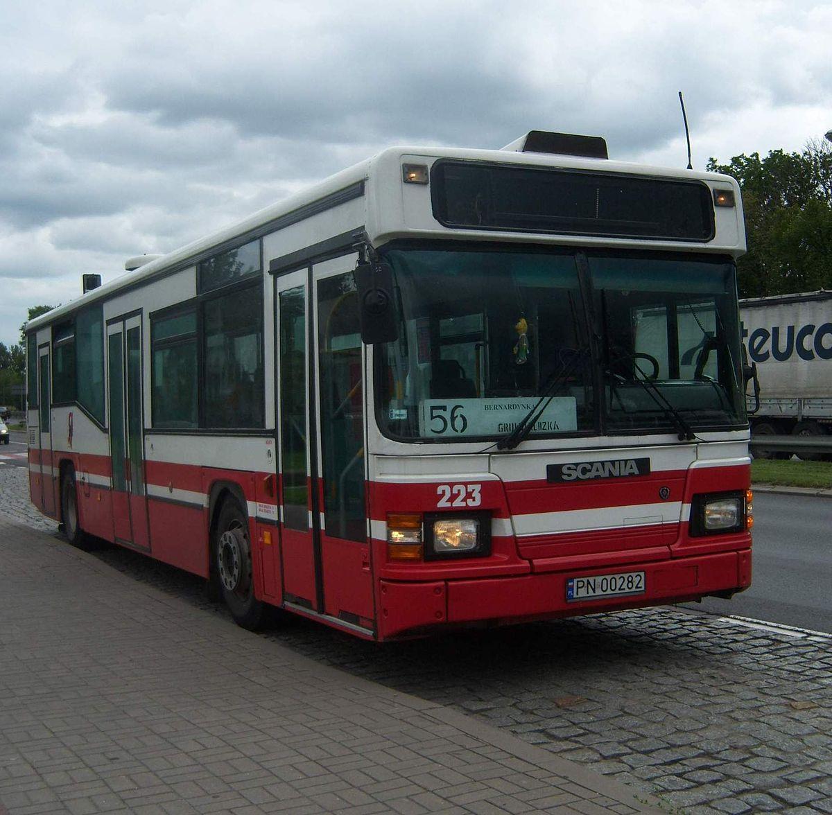 Scania Cn113cll  U2013 Wikipedia  Wolna Encyklopedia