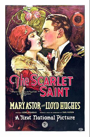 Scarlet Saint - Film poster