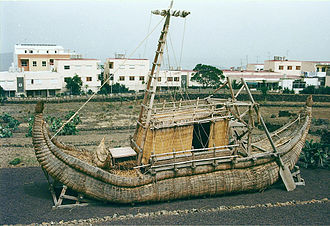 Reed boat - The reed boat Ra II