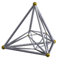 A 4-dimensional cross-polytope