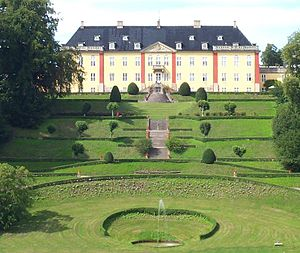 Ledreborg - The terraced gardens of Ledreborg Palace