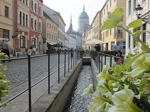 Wittenberg (district) - Image: Schlossstraße Wittenberg 6336