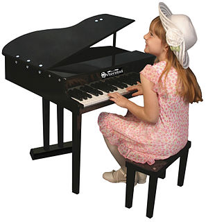 Toy piano music instrument