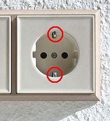 schutzkontakt wikipedia. Black Bedroom Furniture Sets. Home Design Ideas