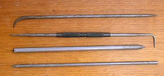 Scriber - An assortment of metal working scribers