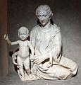 Scultore fiorentino (ambito di francesco da sangallo), madonna col bambino, xvi sec., da s.maria a petrazzi.JPG