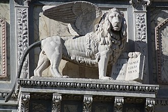 Lion of Saint Mark - Scuola Grande di San Marco