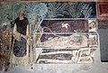 Scuola del maestro di soriguerola, affreschi di n.s. de regnos altos, 1300-50 ca., 12 incrontro dei 3 vivi e 3 morti.JPG