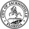 Official seal of Jacksonville