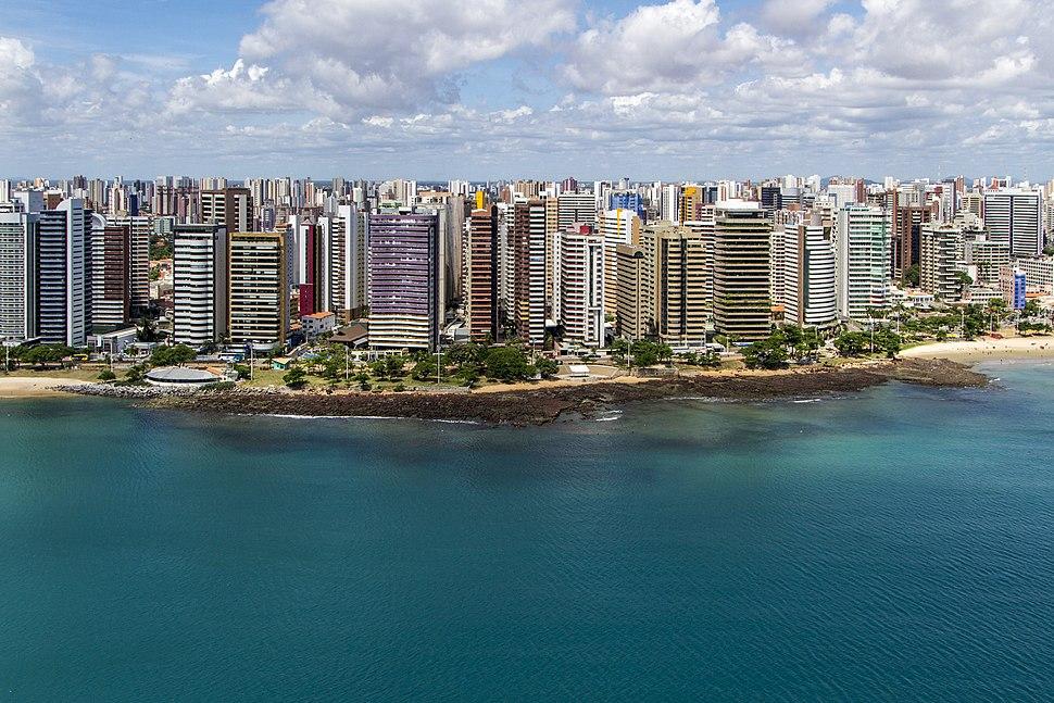 Seashore of Fortaleza