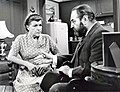 Sebastian Cabot, Nancy Walker - 1970 CBS TV - Family Affair (Black & White).jpg