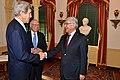 Secretary Kerry Greets Pakistani Minister Khawaja Muhammad Asif (12174064043).jpg