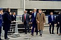 Secretary Kerry Walks With Officials at Brussels National Airport as He Visits Terminal Attacked by Terrorists on March 22 (26028425305).jpg