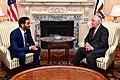 Secretary Tillerson Meets With Qatari Secretary to the Emir for Investments Sheikh Mohammed bin Hamad bin Khalifa Al Thani in Washington (34501634314).jpg