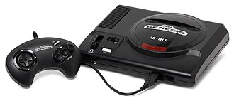 Video game crash of 1983 - Image: Sega Genesis Mod 1 Set