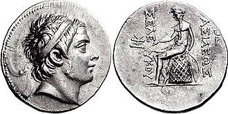 Seleucus III Ceraunus - Image: Seleukos III Keraunos, Tetradrachm, 226 223 BC, HGC 3 414c