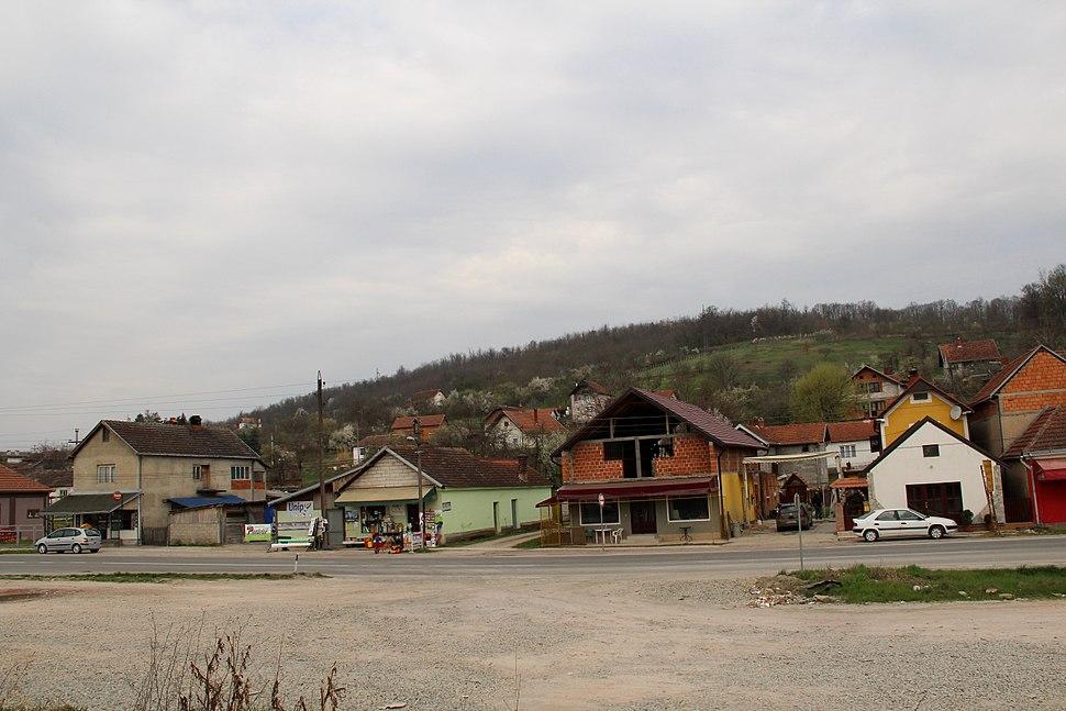 Selo Divci - opština Valjevo - zapadna Srbija - panorama - centar 5