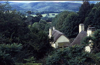 Selworthy village and civil parish in Somerset, England