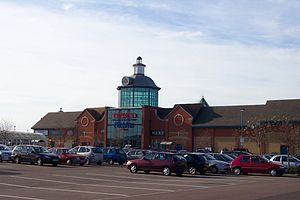 Serpentine Green - Serpentine Green shopping centre's North entrance