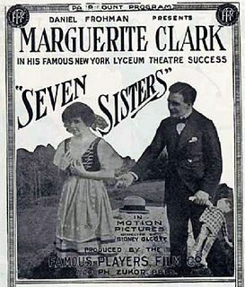 <i>The Seven Sisters</i> (film) 1915 film by Sidney Olcott