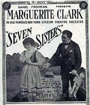 The Seven Sisters (film) - Press sheet