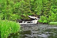 Severo-Priladozhsky reserve. Ruskeala waterfall and water flows of the Tohmajoki river.jpg