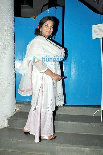 Shabana Azmi - Shabana Azmi at the success bash of 'Neerja'