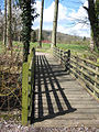 Shadows on a footbridge - geograph.org.uk - 747850.jpg