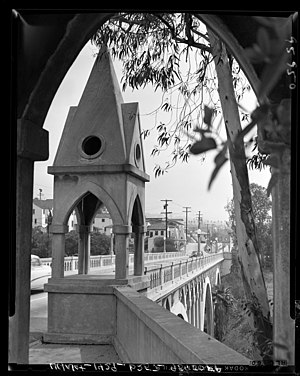 Shakespeare Bridge - Shakespeare Bridge in 1956