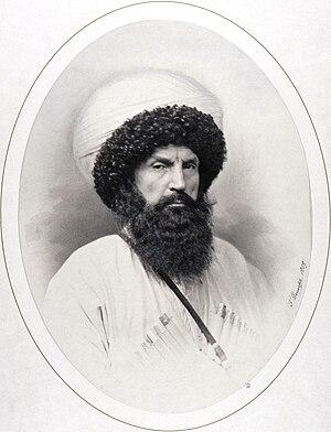 Imam Shamil - Image: Shamil by Denier