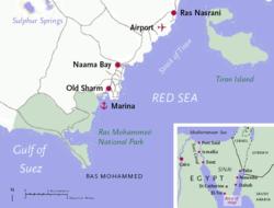 Karte ägypten Sharm El Sheikh.Scharm Asch Schaich Wikipedia