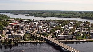 Shawinigan - An aerial view of Shawinigan