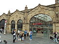 Sheffield railway station entrance - DSC07413.JPG