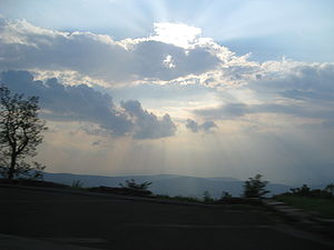 Shenandoah National Park - A view from Skyline Drive