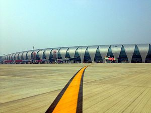 Shenyang Taoxian International Airport - Image: Shenyang Taoxian International Airport Terminal 3