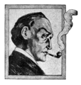 Sherlock Holmes, portrait with pipe.png